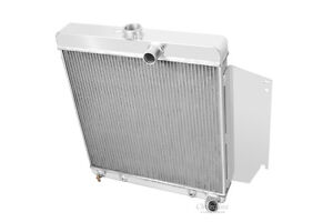 1965 1966 Plymouth Valiant 3 Row Aluminum Champion Dr Radiator 170 2 8l L6