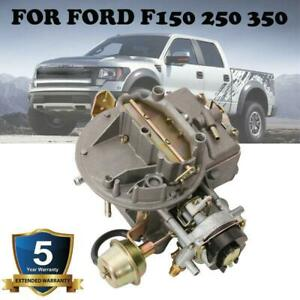 2 Barrel Carburetor For F150 F250 F350 Mustang Engn 289 302 351 Jeep 360