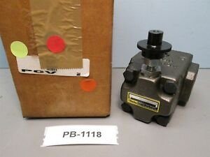 Parker Hydraulics R6pf Pressure Relief Valve New Old Stock