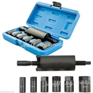 7pc Drive Shaft Pulling Puller Extractor Tool Kit Set 4 For Bmw Subaru Vw E32 X5