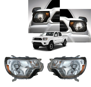 2012 2015 Tacoma Headlights Set Trd Pro Genuine Toyota 81110 04221 81150 04221