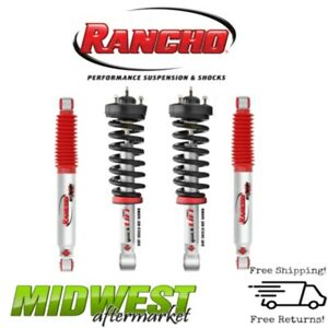 Rancho Quicklift Leveling Struts Rear Shocks For 2005 2016 Nissan Frontier