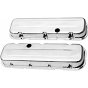 Racing Power Rpc R9236 Engine Valve Covers Chrome 1965 95 Chevy V8 396 502 Sho