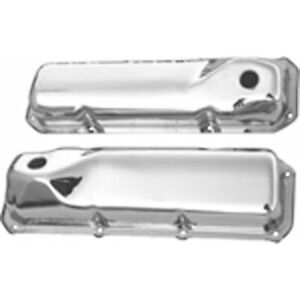 Racing Power Rpc R9295 Engine Valve Covers Chrome 1970 Up Ford 351c 351m 400 B