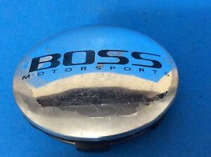 Rare Boss Motorsports Custom Wheel Chrome Center Cap 3184