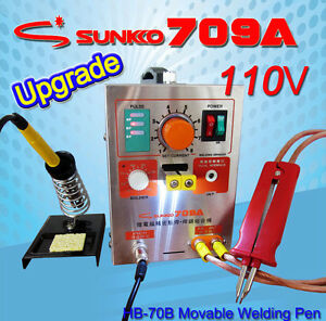 Update 709 Battery Spot Welder Welding Mobile Welding With Pen Soldering Iron
