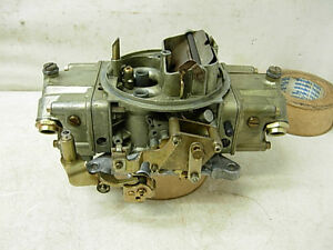 4778 Holley Carburetor 700 Cfm Double Pumper Carb Amc Chevy Olds Pontiac Mopar