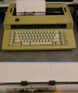 Vintage Ibm Actionwriter 1 Electric Type Writer Needs Type Ribbon