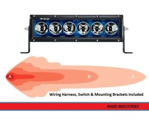Rigid Industries Radiance Series Back light 10 Inch Led Light Bar blue