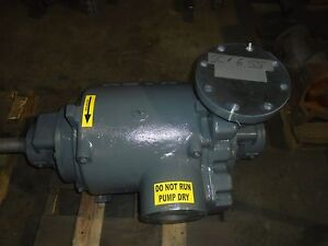 Nash Vacuum Pump Liquid Ring Vacuum Pump Sc 6 316ss 100 Rebuilt With Warranty
