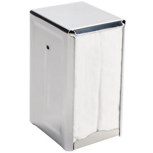 Tallfold Napkin Dispenser Stainless Steel Case Of 6