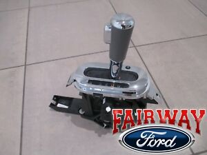 07 08 F 150 Oem Ford Flow Thru Floor Console Shifter Lever And Handle Knob New