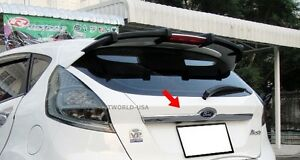 Fit Ford Fiesta 2010 2015 5dr Hatchback Chrome Cover Trim Tailgate
