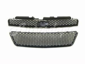 For 2006 2010 Impala Ss Grille Front Bumper Lower Grille With Chrome Molding