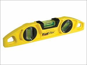 Stanley Tools Fatmax Torpedo Level 22cm 0 43 603