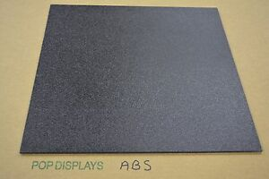Abs Plastic Sheet Black 1 8 X 48 X 96