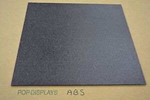 Abs Black Plastic Sheet 1 8 X 48 X 96 Textured 1 Side Vacuum Forming