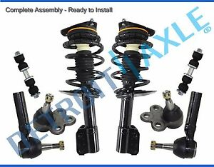 New 8pc Complete Front Quick Strut Spring Suspension Kit For Chevy Pontiac