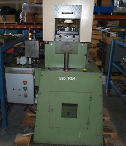Cmc 550 Ton Hydraulic Coining Stamping Press 550t 500 600 Medallion Jewelry