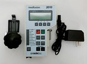 Medfusion 2010 Syringe Pump W New Battery Ac Adapter Pole Clamp