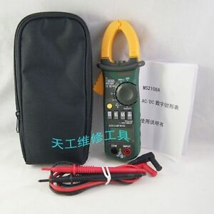 Mastech Ms2108a 4000 Counts Ac dc Current Clamp Meter