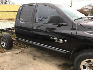 02 03 Dodge Ram Truck 1500 Quad Cab Passenger Front Power Electric Door Black