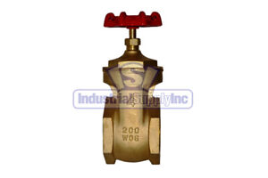 4 Full Port Brass Gate Valve
