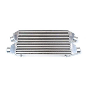 Universal Twin Aluminum Turbo Intercooler Fmic 30x11x3 4 700hp 3 Inlet Outlet