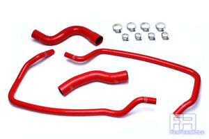 Hps Silicone Radiator Heater Coolant Hose For 01 04 Grand Cherokee Wj 4 7l Red