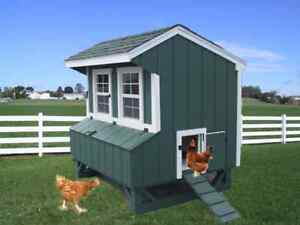 Chicken Coop Lanc Pa Dutch Amish Custom Pen Poultry Shed Hen House Farm Built