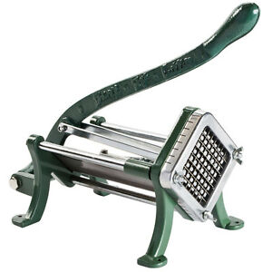 3 8 Green French Fry Cutter Potato Cutter Slicer