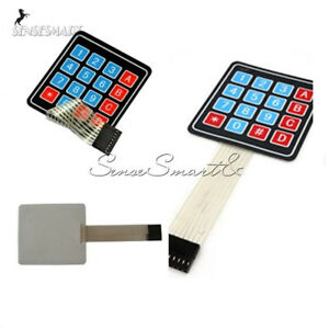 16 Key Membrane Switch Keypad Keyboard 4 X 4 Matrix Array For Arduino avr pi c