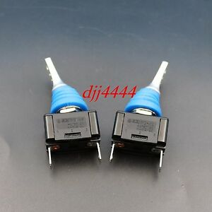 10pcs Waterproof 12mm R13 416 2pin Toggle Switch 2position On off Spst For Car
