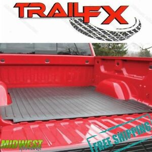 Trailfx Drop In Rubber Truck Bed Mat Fits 2004 2014 Ford F 150 6 5 Bed