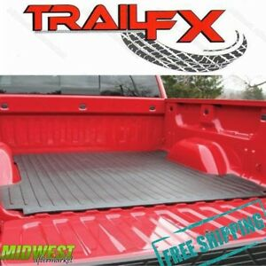 Trailfx Drop In Rubber Truck Bed Mat Fits 1999 2016 Ford F 250 F 350 6 Bed