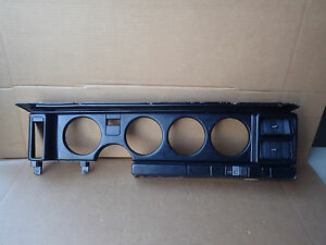 1982 1992 Formula Firebird Trans Am Dash Speedometer Bezel Black