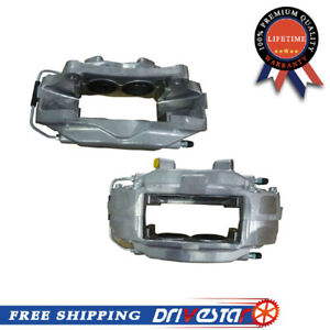 Completely New Front Pair Set Disc Brake Caliper For 07 14 Ford Mustang