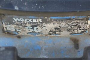 Wacker Jumping Jack Bs600