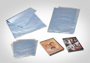 50 Pc 12 x16 Heat Shrink Wrap Bag Pvc Books Shoes Soaps Dvds Etc 100 Gauge