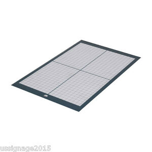 2pcs a4 Non Slip Vinyl Cutter Plotter Cutting Mat With Craft Sticky Printed Grid