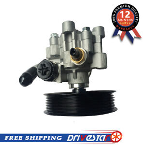 Power Steering Pump Fits Toyota Corolla 03 08 Pontiac Vibe W Pulley 1 8l