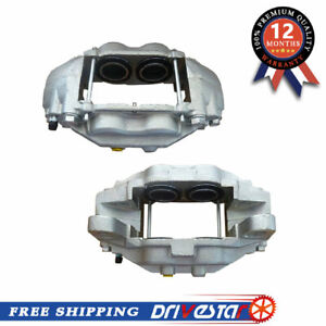 Brand New Front Pair Disc Brake Caliper For 07 15 Toyota Sequoia Tundra