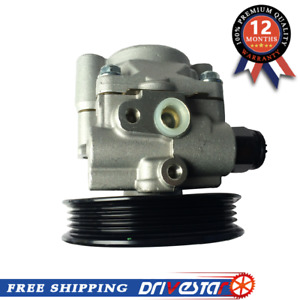 New Power Steering Pump For 02 06 Toyota Camry Lexus Es300 Es330 W Pulley