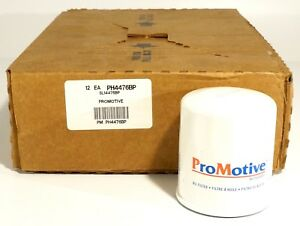 New Promotive Engine Oil Filter Case Of 12 For Toyota 1998 2011 Ph4476