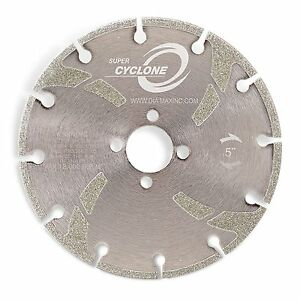 7 Diamax Super Cyclone Electroplated Marble Blade