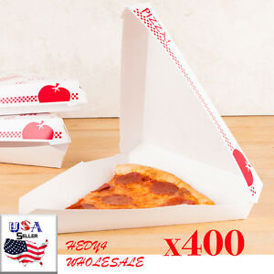Pizza Wedge Box One Slice Pizza Box 400 case Fast Shipping