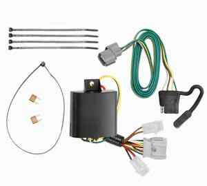 Trailer Hitch Tow Wiring Kit For 2007 2011 Honda Element 4 Flat T Connector