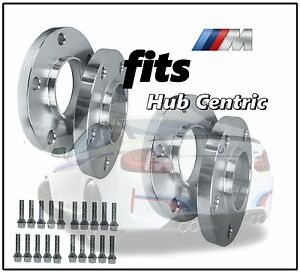 Staggered Hub Centric Wheel Spacers Bmw 12 Mm 15 Mm 12x1 5 Chrome Lug Bolts