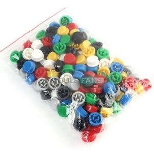 140pcs Round Tactile Button Cap Kits 9 58 5 1mm For 12 12 7 3mm Tact Switch Mf
