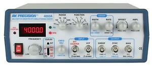 Bk Precision 4003a New 4 Mhz Sweep Function Generator
